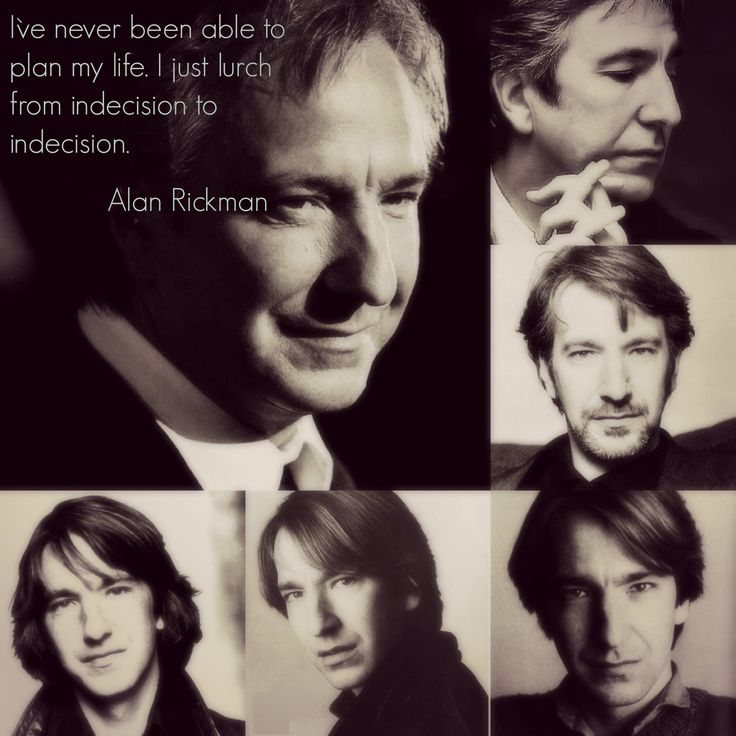 I desided to start this board with the oldest photos of Alan. Everything has the beginning. The beginning of human life is a  childhood. His youth. So in this collage I placed some old photos with young Alan and his quote about all his life. I think it`s nice start for the GREATEST board dedicated to Alan <3