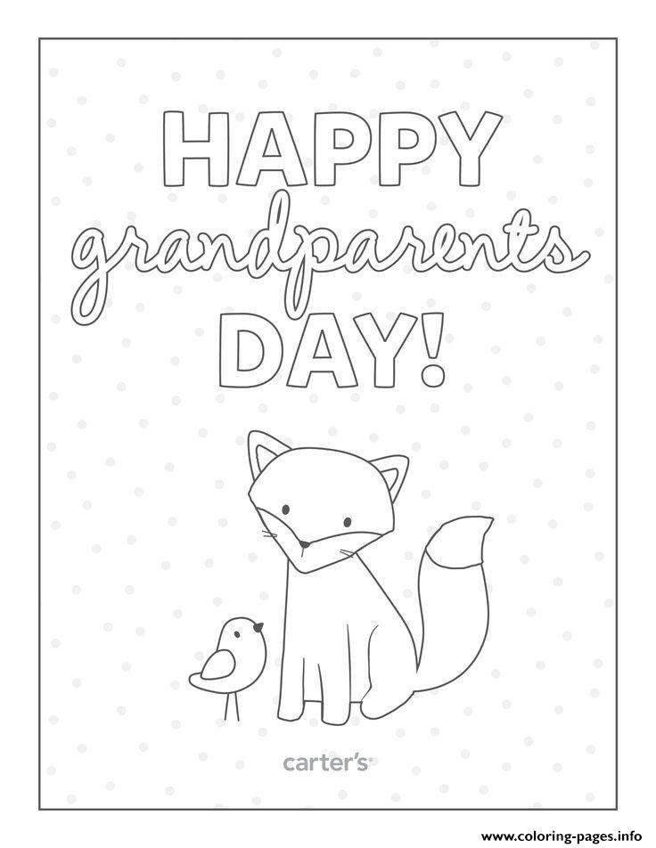Grandparents Day Coloring Pages Happy Grandparents Day Card To Color Coloring Pages Printable In 2020 Happy Grandparents Day Grandparents Day Grandparents Day Crafts