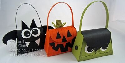halloween treat purse by juliestamps - Cards and Paper Crafts at Splitcoaststampers