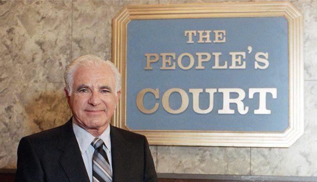Joseph Wapner, judge & tv personality 97- The People's Court