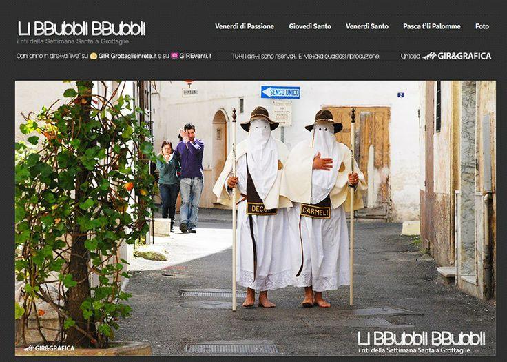 """Oggi è Giovedì Santo: a Grottaglie escono """"Li BBubbli BBubbli alla scasata"""" e viene allestito """"Lu Sibburco"""""""