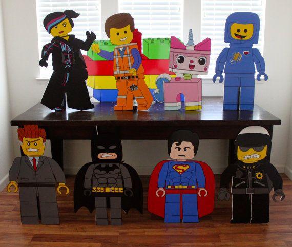 Lego Lego Party Lego Birthday Lego Emmet Lego by APropHerParty