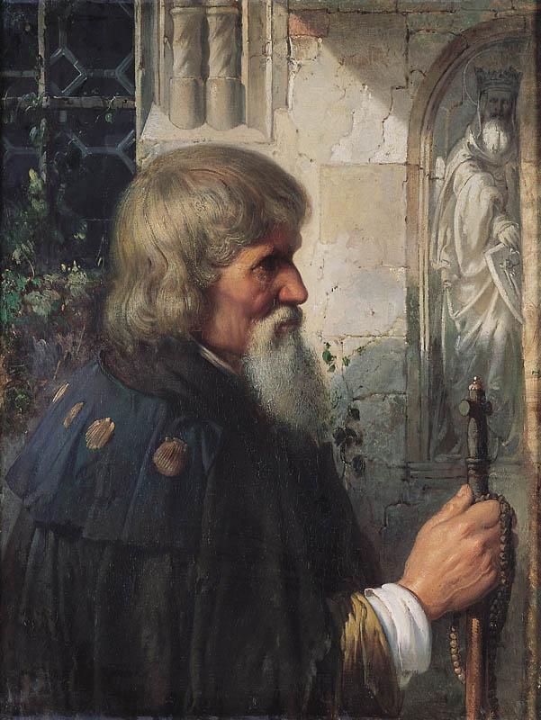 Wojciech Gerson - Pilgrim, 1861