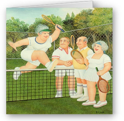 Beryl Cook - Mixed doubles
