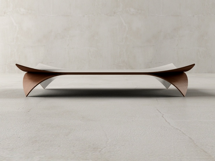 Bent Wood Table