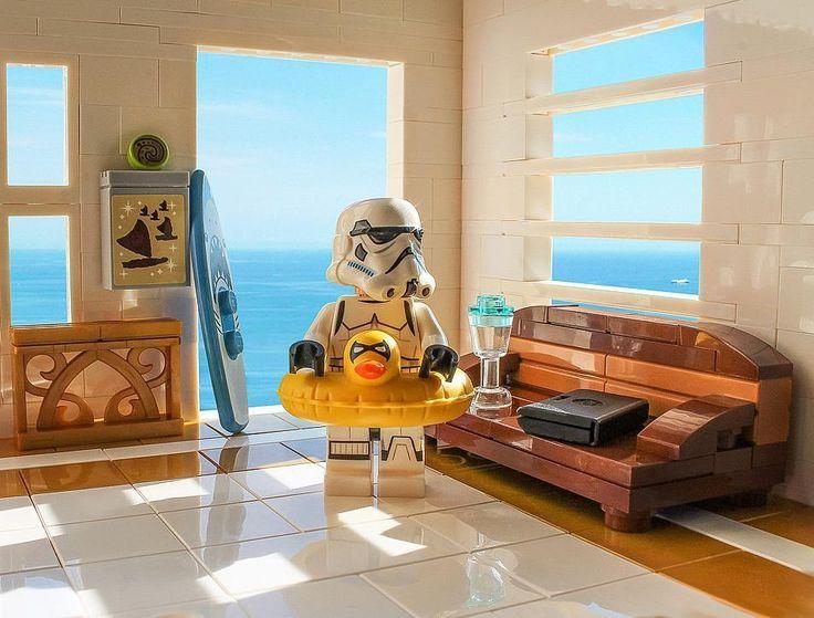 Beach house LEGO Star Wars