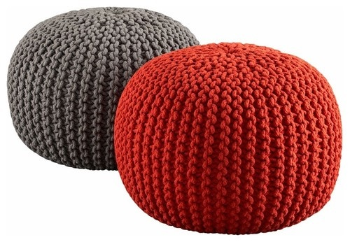 contemporary ottomans and cubes by CB2--I think one of these things would be cute in the kids' rooms.