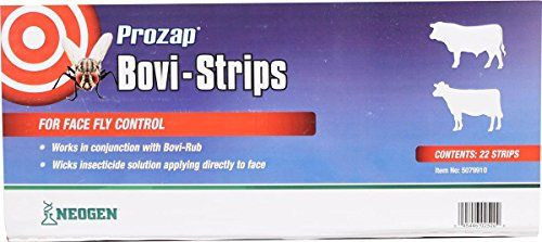 CHEMTECH 0485079910 698749 Prozap BoviStrips For Face Fly Control White 22 Count >>> Check out this great product.