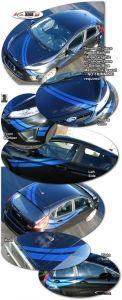Ford Fiesta 2010+ Rally Stripe Kit 2