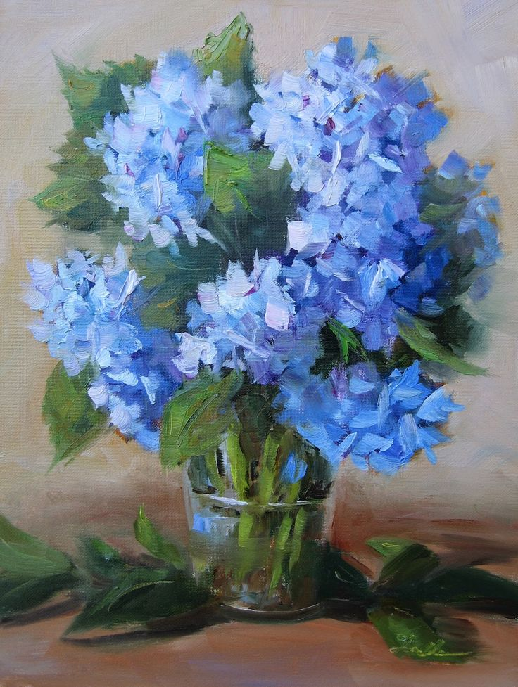 Pat Fiorello - Art Elevates Life: Hydrangea Light | Paint ...