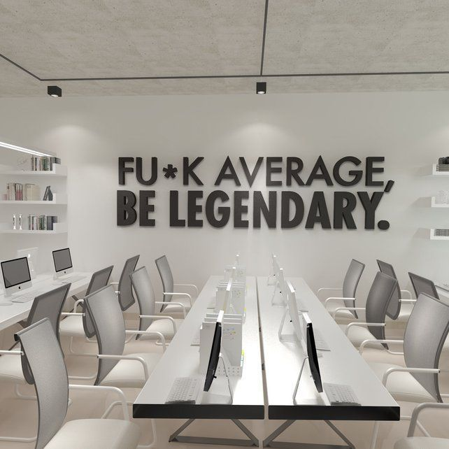 Business Office Decorating Ideas Is Unquestionably: Be Legendary Workplace Wall Art , Functional Office Décor