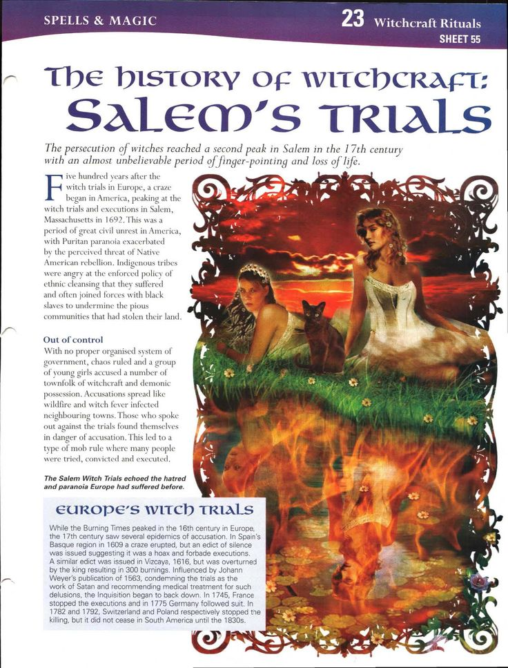 The History of Witchcraft: Salem's Trials