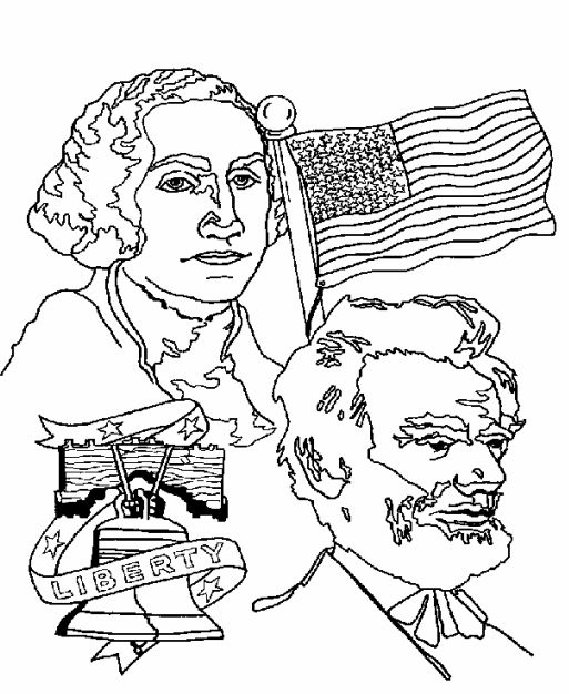 Abraham Lincoln Coloring Pages Pdf : President s day coloring pages