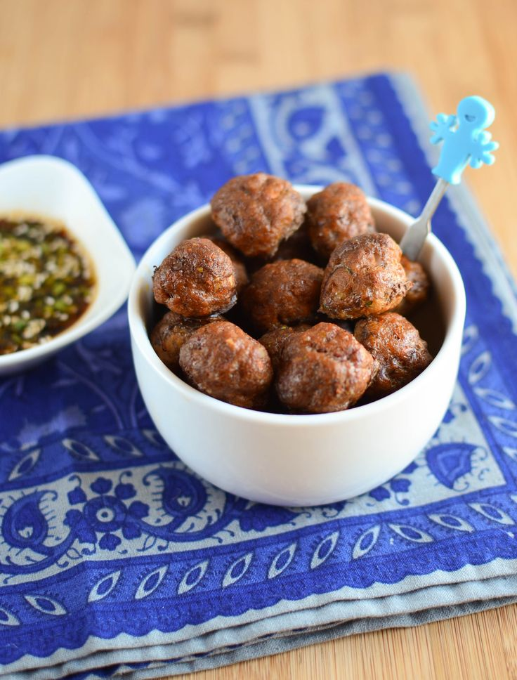 94 best finger food images on pinterest baby foods baby meals hidden vegetable beef meatballs with dipping sauce baby food recipestoddler forumfinder Choice Image