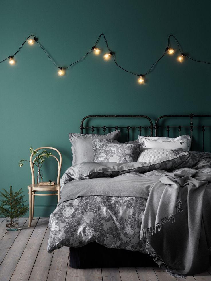 Blau Und Wald Grün Wohnzimmer