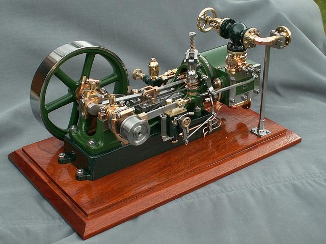 Stuart-Turner No 9 model steam engine.