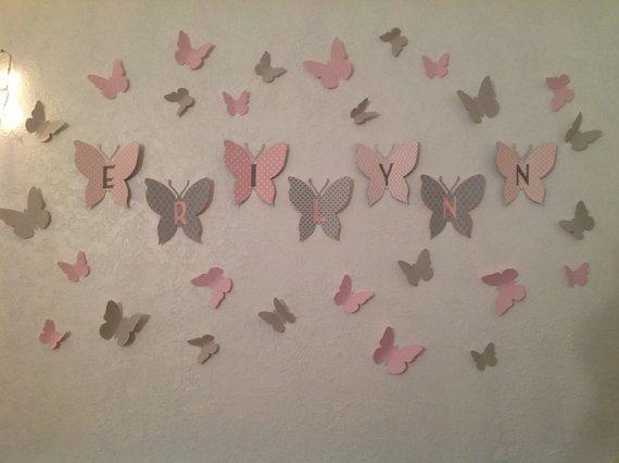 3D Papier Schmetterlinge, Gossip Girl, Schmetterling Burst, Schmetterling Wandkunst, Kinderzimmer Wanddekoration, Schmetterling Kindergarten, Wohnheim Wandkunst, Papier Schmetterlinge  IMMER! Kaufen 2 Sets bekommen 1 frei Dieses Angebot ist nur für einen Satz der Wand Schmetterlinge, es schließt nicht die größere Schmetterlinge den Namen auszuschreiben, um den Eintrag klicken Sie bitte Sie kommen in eine Gruppe von 17 mit Wand Halterung Klebstoff bereits auf der Rückseite. 3 Schmetterlinge…