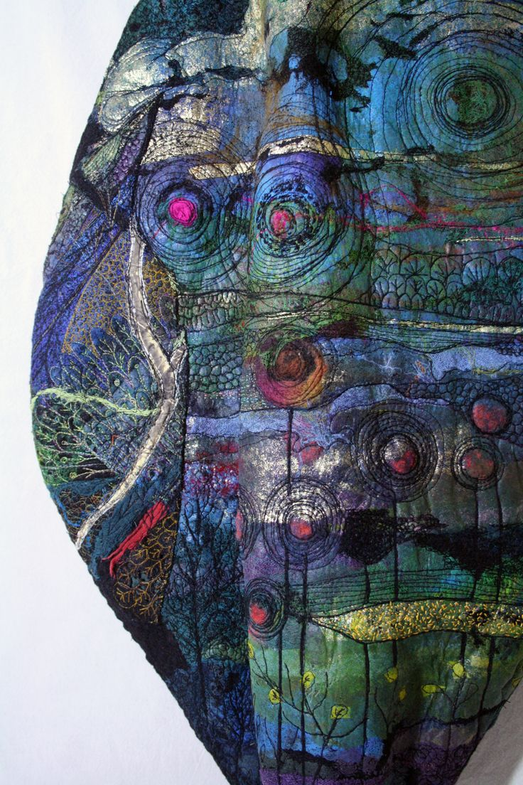 """""""Three Leaves"""" are back from three year long journey through galleries in Ontario as part of Threadworks..."""