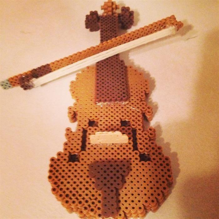 Violin perler beads by Layne C. - Perler®   Gallery