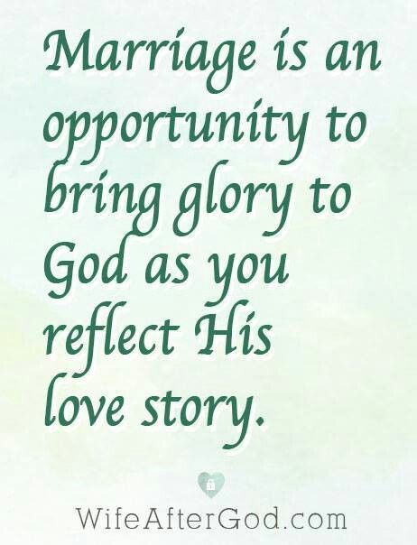 Image result for marriage glorifies god