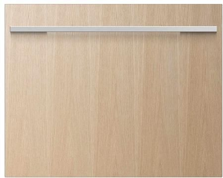 """DishDrawer Series DD24SI7 24"""" Fully Integrated Panel Ready Single Drawer Dishwasher with 7 Place Settings 9 Wash Cycles Delay Start Quiet 49 dBA Eco Option and Energy Star: Panel Ready"""