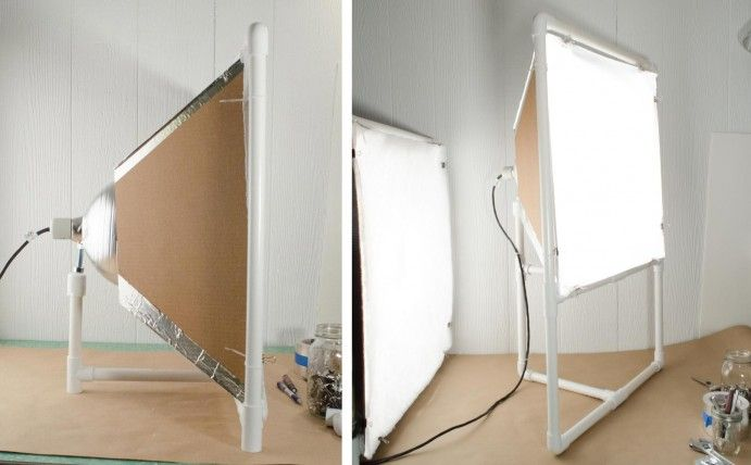 Durable and cheap DIY softbox with stand instructions