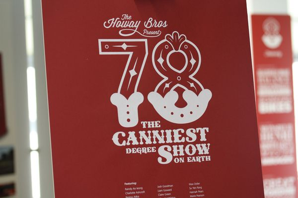 78: The Canniest Degree Show on Earth by Sean Ford, via Behance