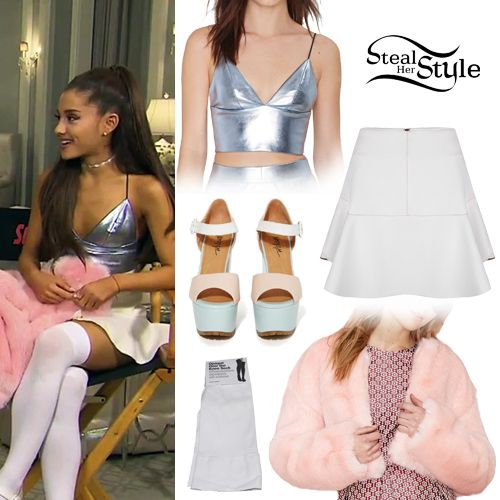 Entertaiment Tonight Lea Michele \u0026 Ariana Grande Show Off \u0027Scream Queens\u0027  Killer Set