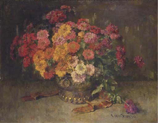 Clara von Sivers (German, 1854-1924)