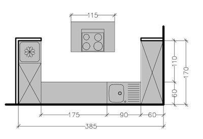 Une cuisine avec îlot, vous en rêvez ? Voici six possibilités pour une cuisine ouverte ou fermée de 5 à 13 m². Des plans conçus par Nicolas Sallavuard, architecte de l'agence Studio d'Archi.