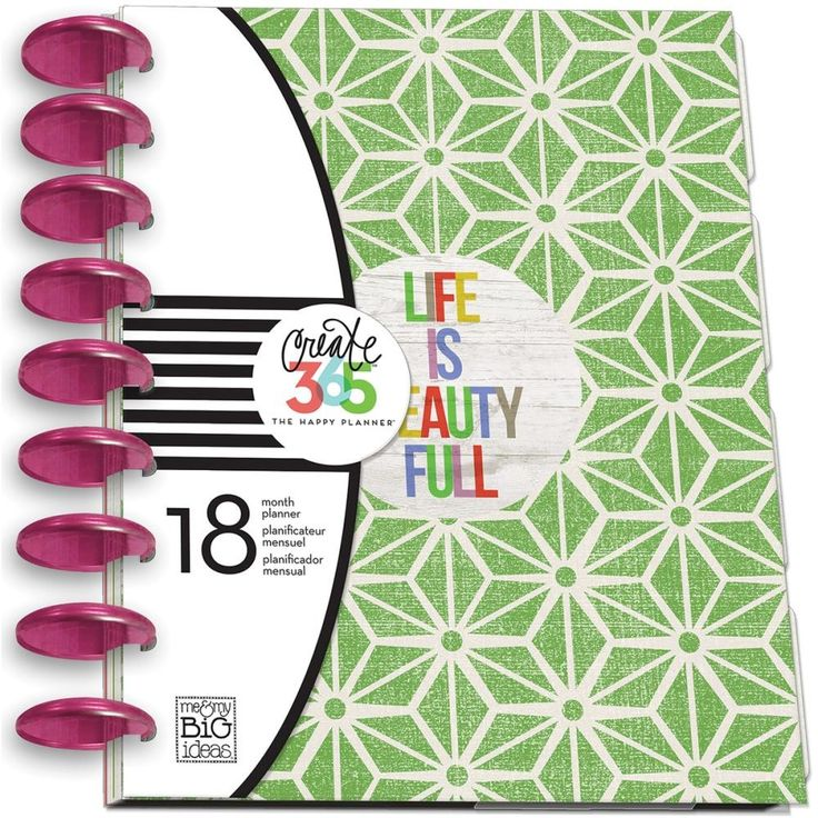 Life Is Beauty Full Create 365 Planner #planner #diy   https://www.upandscrap.com/life-is-beauty-full-create-365-planner