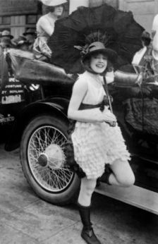 Fun fact of the day. Did you know the invention of the automobile had a significant influence on women's fashion. In the 1900s, skirts became shorter to enable women to step into automobiles more easily.