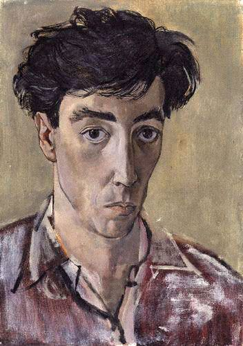 Self Portrait / John Minton (1917-1957)  1953 / Oil on canvas / National Portrait Gallery, London // FacePaint
