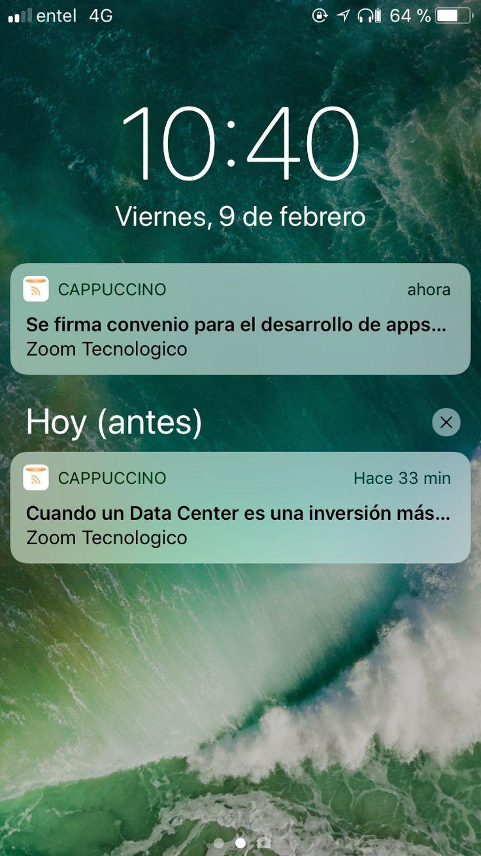 capuccino-3 Cappuccino: Un lector RSS elegante para macOS e iOS