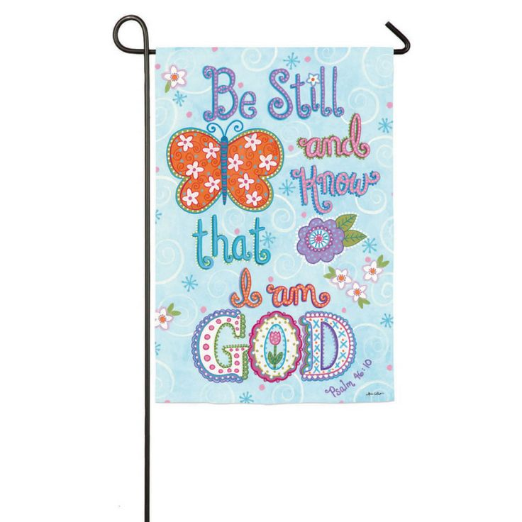 IAmEricas Flags - God is Love 2 Sided Suede Reflections Garden Flag, $14.00 (http://www.iamericasflags.com/god-is-love-2-sided-suede-reflections-garden-flag/)