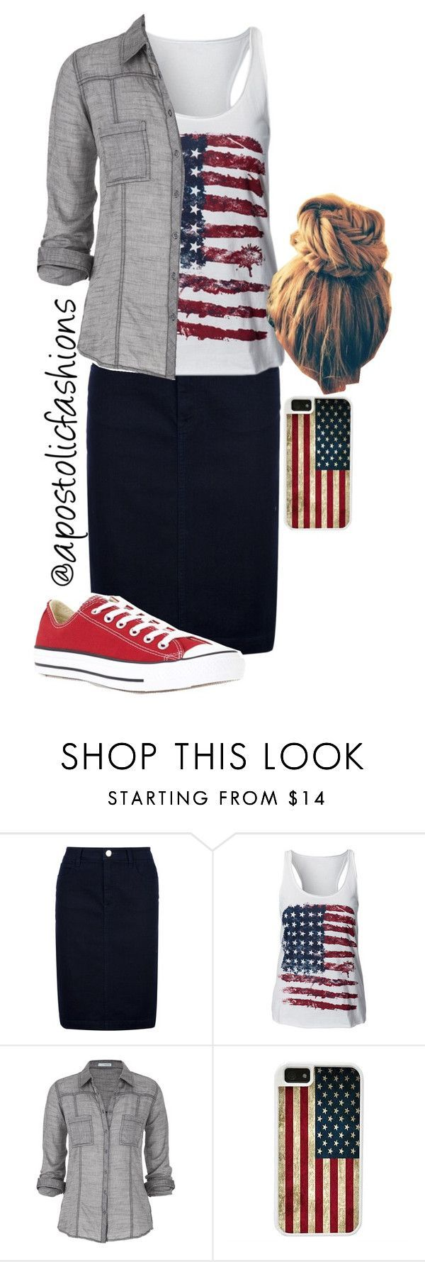 """Apostolic Fashions #659"" by apostolicfashions ❤️ liked on Polyvore featuring Burberry, maurices, Converse and CellPowerCases"