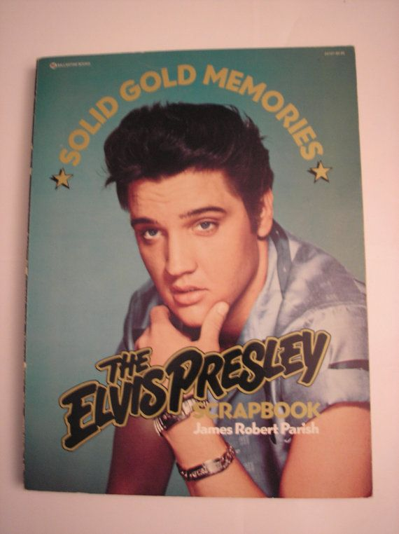 1977 The Elvis Presley Scrapbook 19351977 By James by daddydan, $39.95