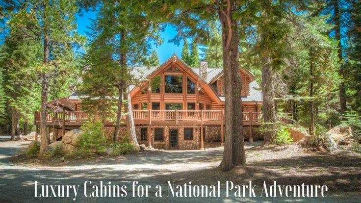 From sea to shining sea, America has nearly 60 protected areas recognized  by the National Park Service. Each park has has its own unique, exquisite  beauty that no photo can capture. Craving an escape to America's most  beautiful treasures? This list of luxury cabins by national parks will have