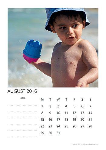 Calendar Design Template Spring