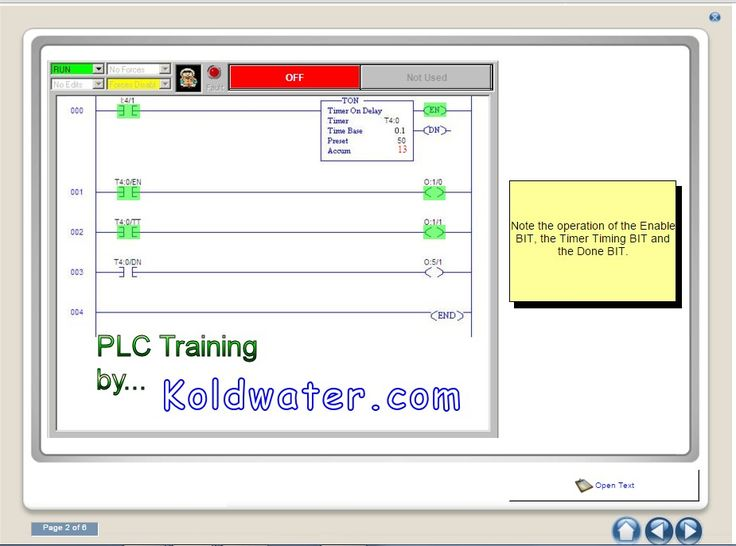 Free online programmable logic controller training
