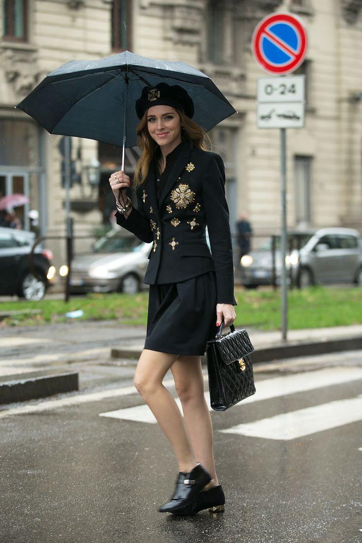 Chiara Ferragni At Milano Fashion Week Canon Fashion
