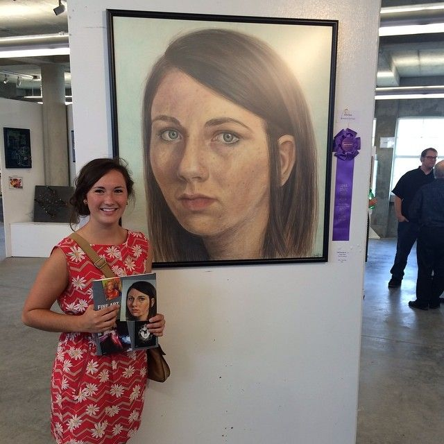 Never thought I would get into the Iowa State Fair adult art show on my first try, let alone win Best of Show. #shocked