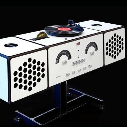 Radiofonografo Brionvega RR226 Design Achille e Piergiacomo Castiglioni  Complementi