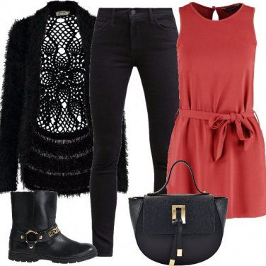 Outfit Cardigan particolare
