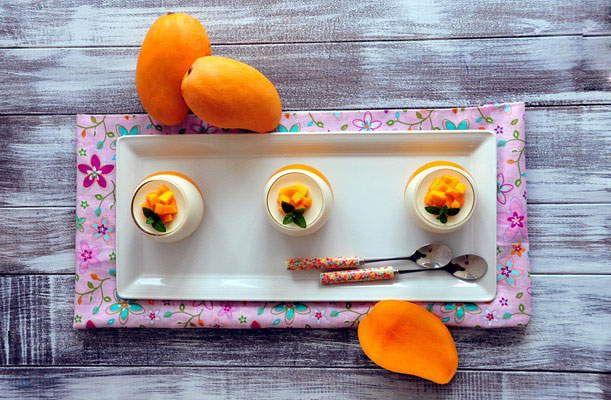 Направи сам Рецепт - Пудинг од манго на италијански начин