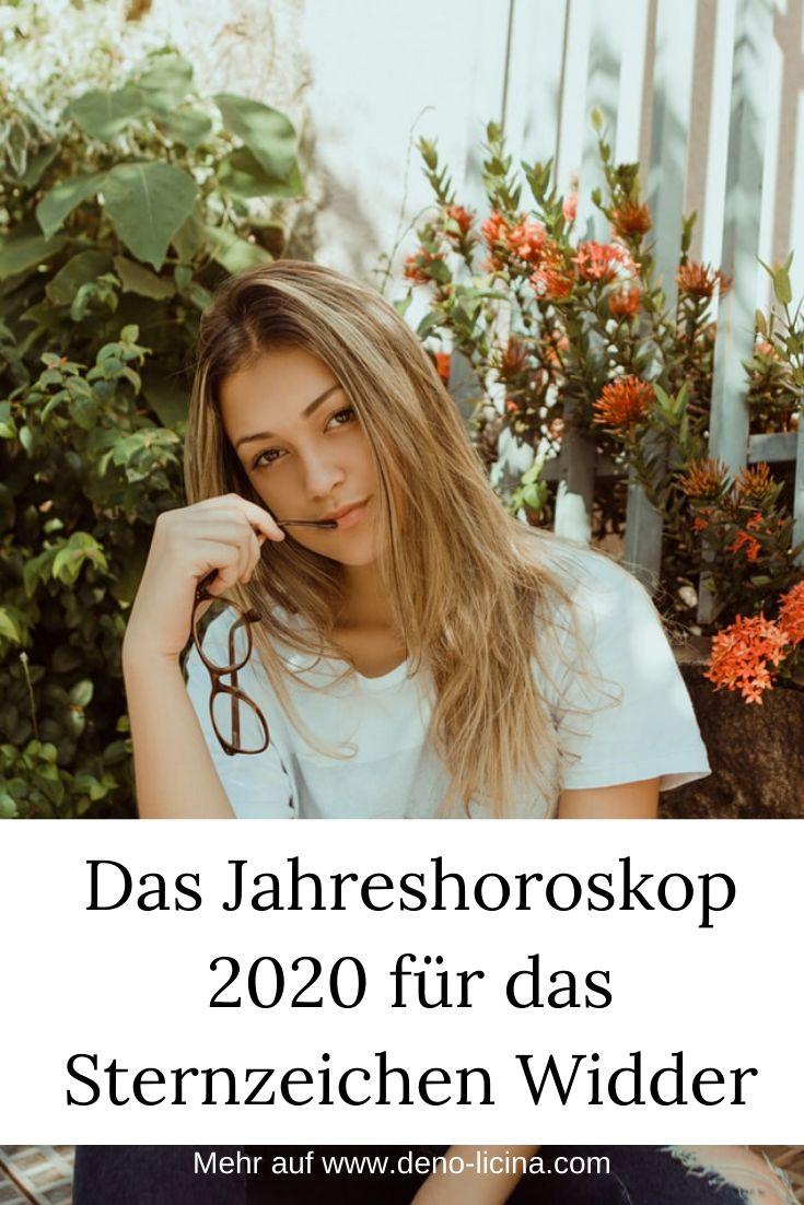 Jahreshoroskop 2020 widder frau single