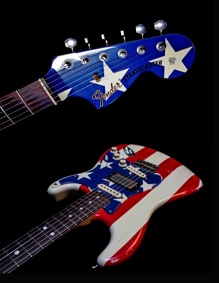 "Hey - Let's ""Kick out the Jams"" to celebrate July 4th with a little Wayne Kramer action! Here's a look at his iconic 2010 Signature #Fender #Stratocaster ""Stars and Stripes"" guitar honoring the Great #USA! And if you would like to honor a great cause check out the charity Billy Bragg founded in the UK and Wayne founded in the USA called ""Jail Guitar Doors"" where they help to rehabilitate minimum security prisoners by getting them guitars to play while incarcerated. Very inspiring! You can…"