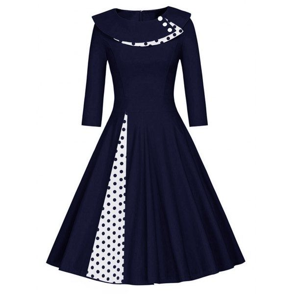 Blau schwarzes kleid pessimist