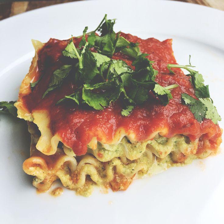 """Easy and delicious vegan """"cash"""" lasagna!"""