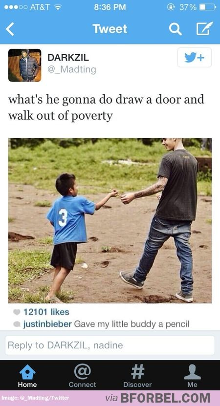 Wow that's real kind, Bieber
